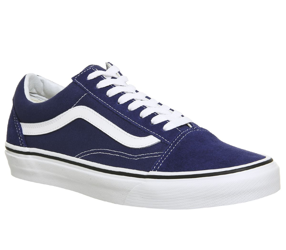 107633af24 Vans Old Skool Trainers Estate Blue True White - Unisex Sports