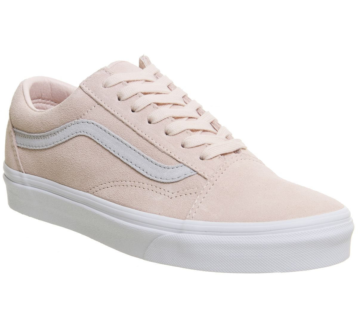 61ba63bace Vans Old Skool Trainers Pale Pink Grey Exclusive - Unisex Sports
