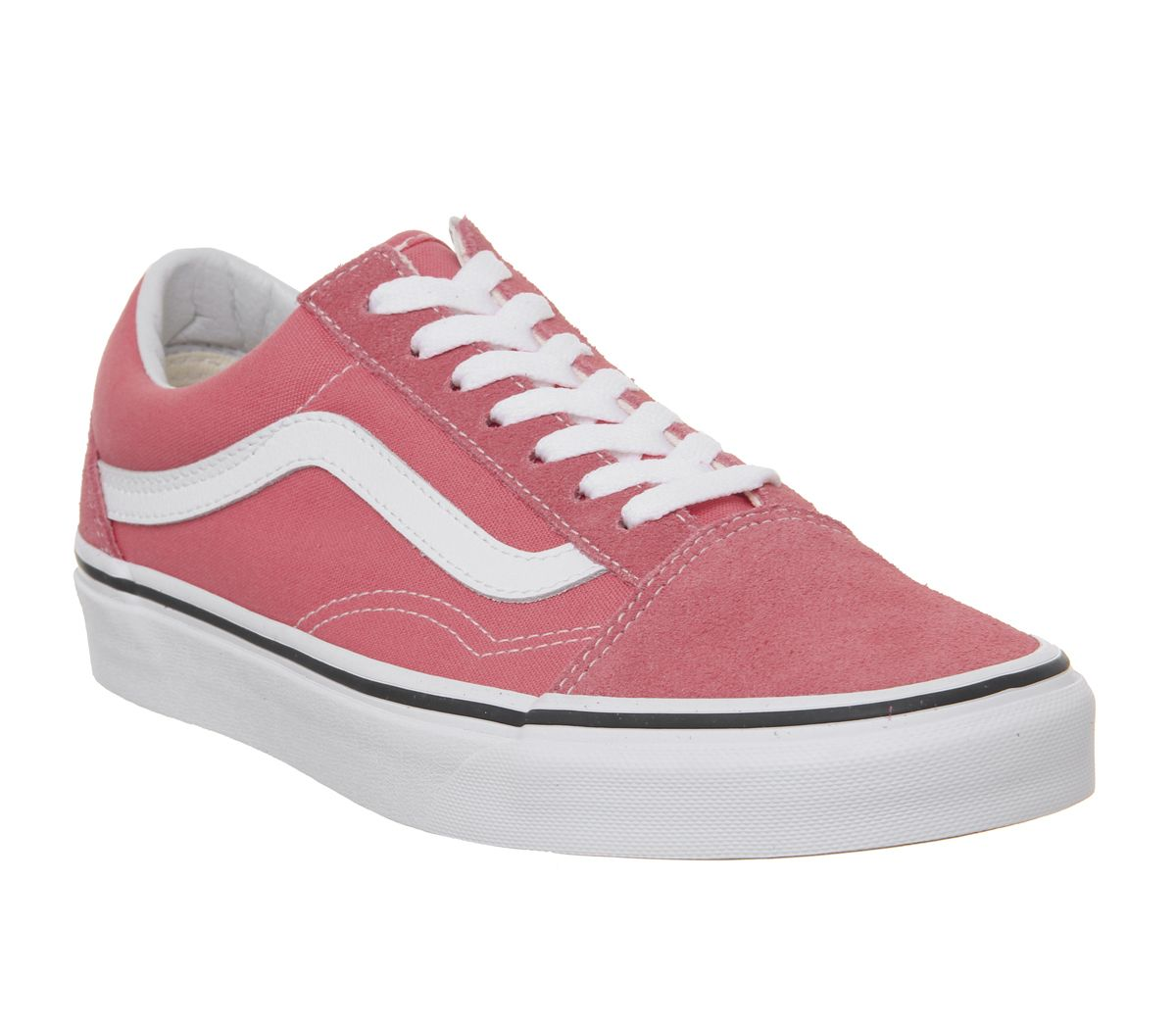 ebe9e07cc6 Vans Old Skool Trainers Strawberry Pink True White - Hers trainers