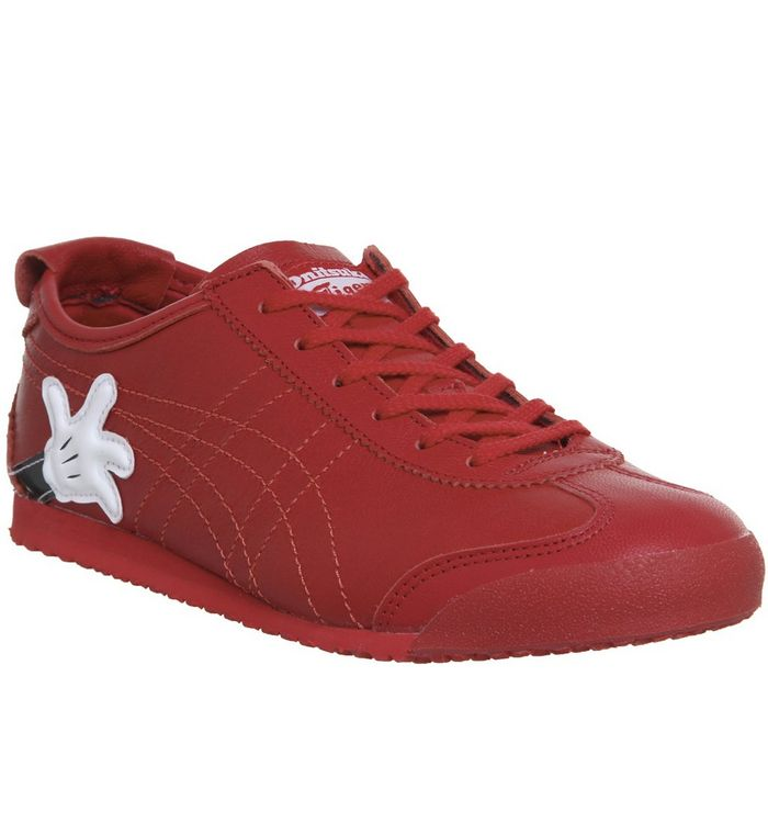 finest selection 2c568 fd158 Onitsuka Tiger Mexico 66 Trainers Mickey Red Red - Hers trainers