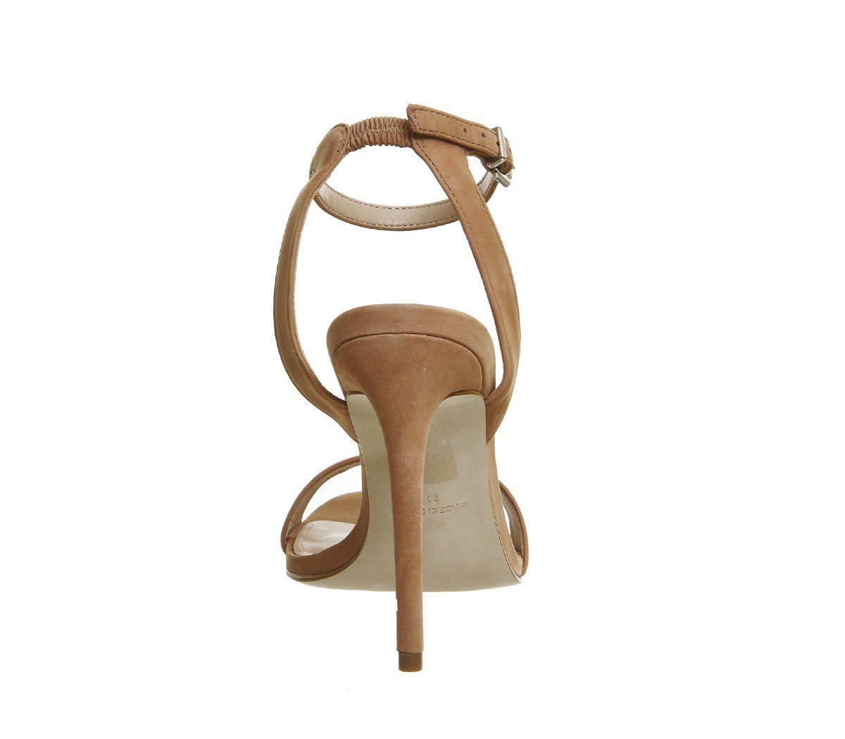 32cab4f3790 Office Alana Single Sole Sandals Nude Nubuck - High Heels