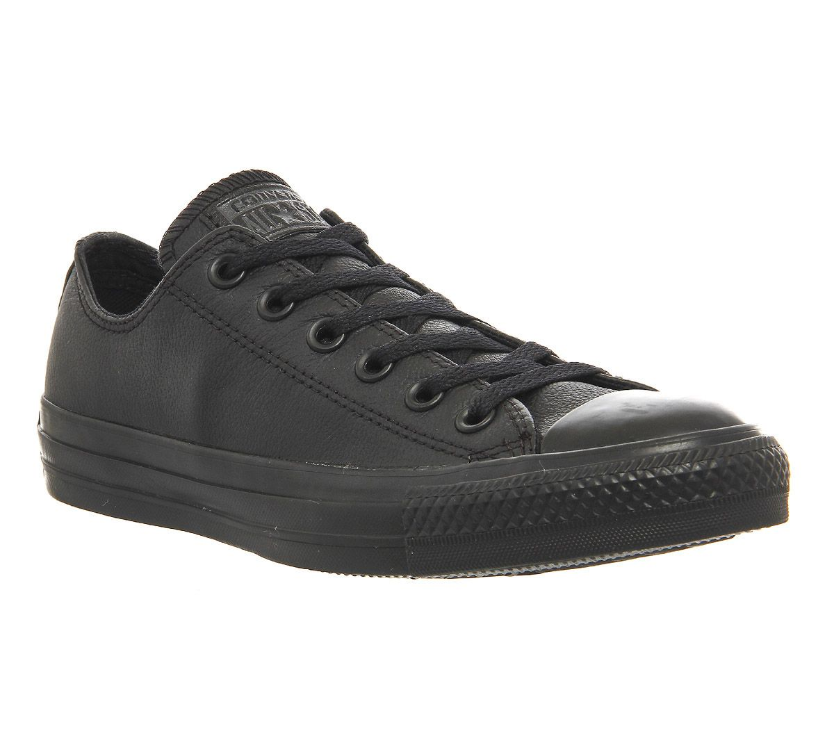 bf98a247e962 Converse All Star Low Leather Black Mono Leather - Unisex Sports