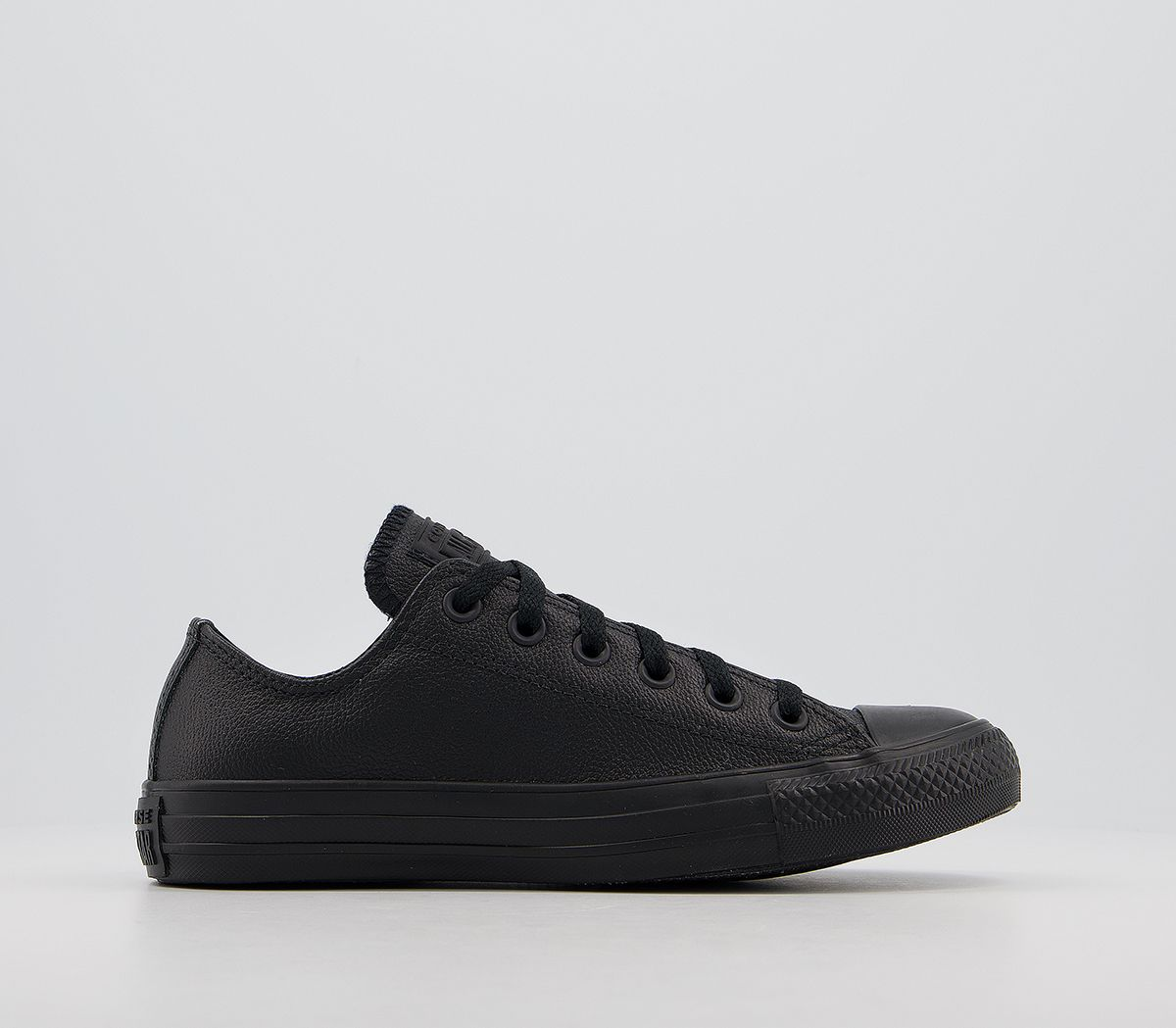 ea02df7f4d98 Converse All Star Low Leather Black Mono Leather - Unisex Sports