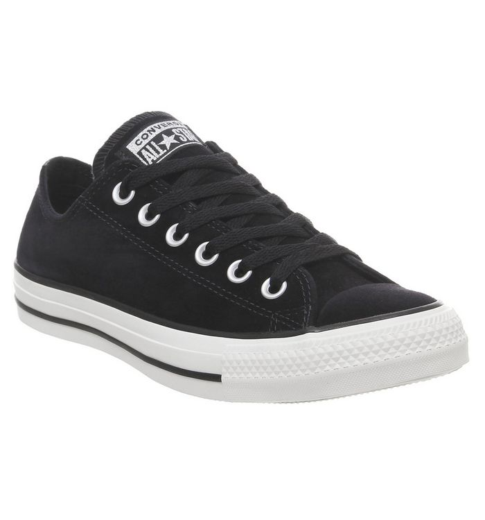 a307b3aadce9 Converse All Star Low Leather Black Mono Leather - Unisex Sports