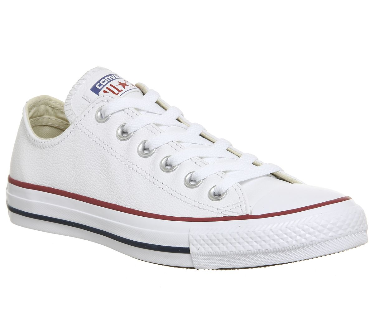 5385e244e696 Converse All Star Low Leather Optical White - Unisex Sports