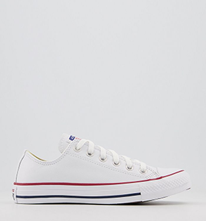 ab02536747c Converse All Star Low Leather White Mono Leather. £59.99. Quickbuy.  14-12-2012