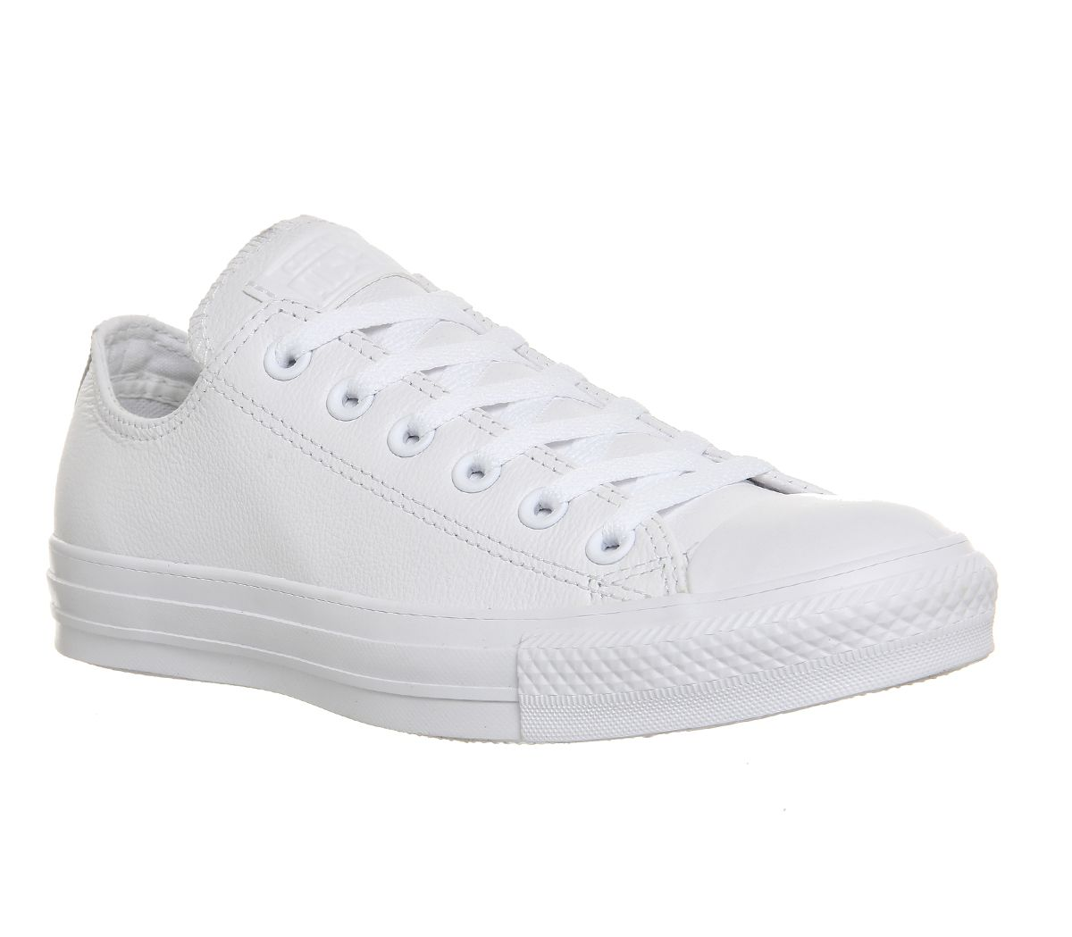 c35287b6e6 Converse All Star Low Leather White Mono Leather - Unisex Sports