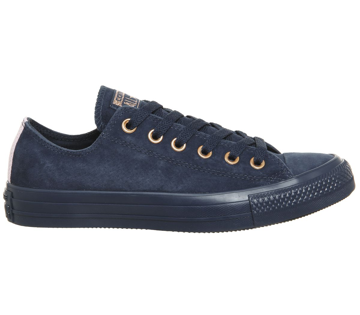 a006da5d628a Converse All Star Low Leather Navy Cherry Blossom Exclusive - Hers ...