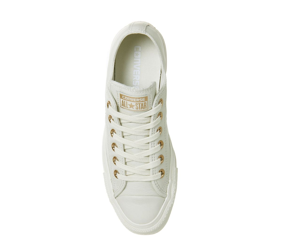2d862ffa7665 Converse All Star Low Leather Egret Rose Gold Exclusive - Hers trainers