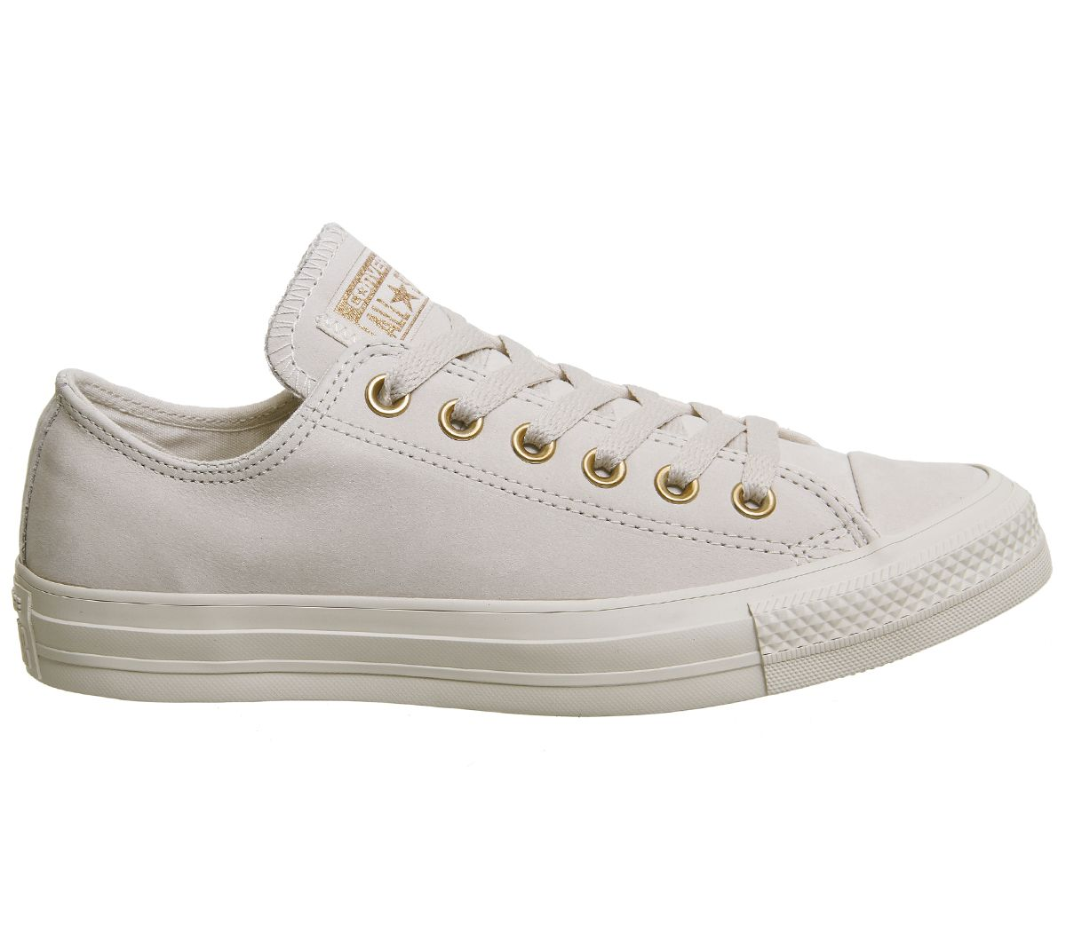 b024ba1dbaad Converse All Star Low Leather Whisper Pink Rose Gold - Hers trainers