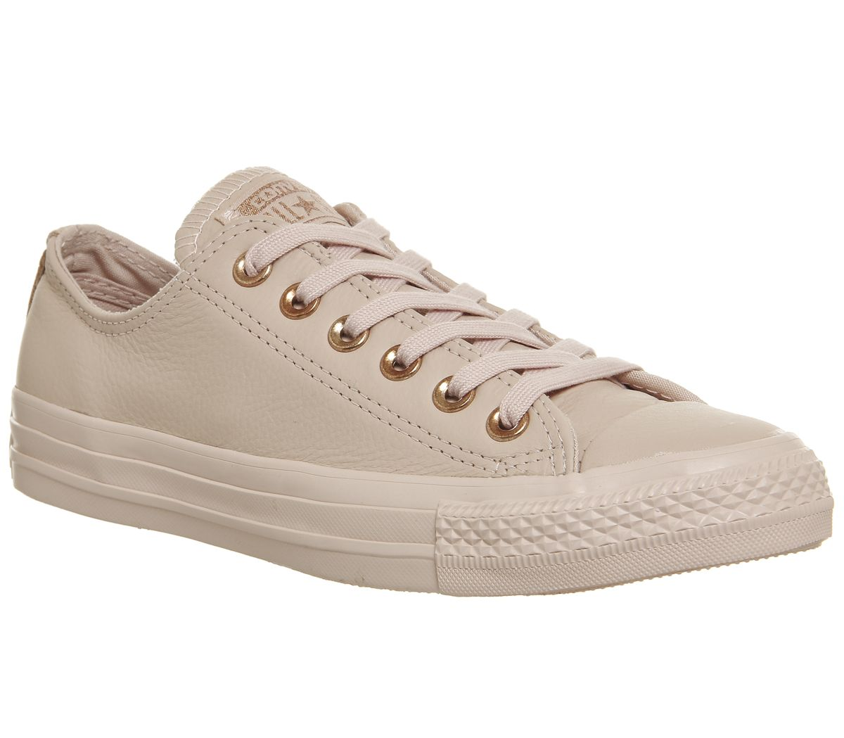 1f4235d75b8 Converse All Star Low Leather Dusk Pink Rose Gold Exclusive - Hers ...