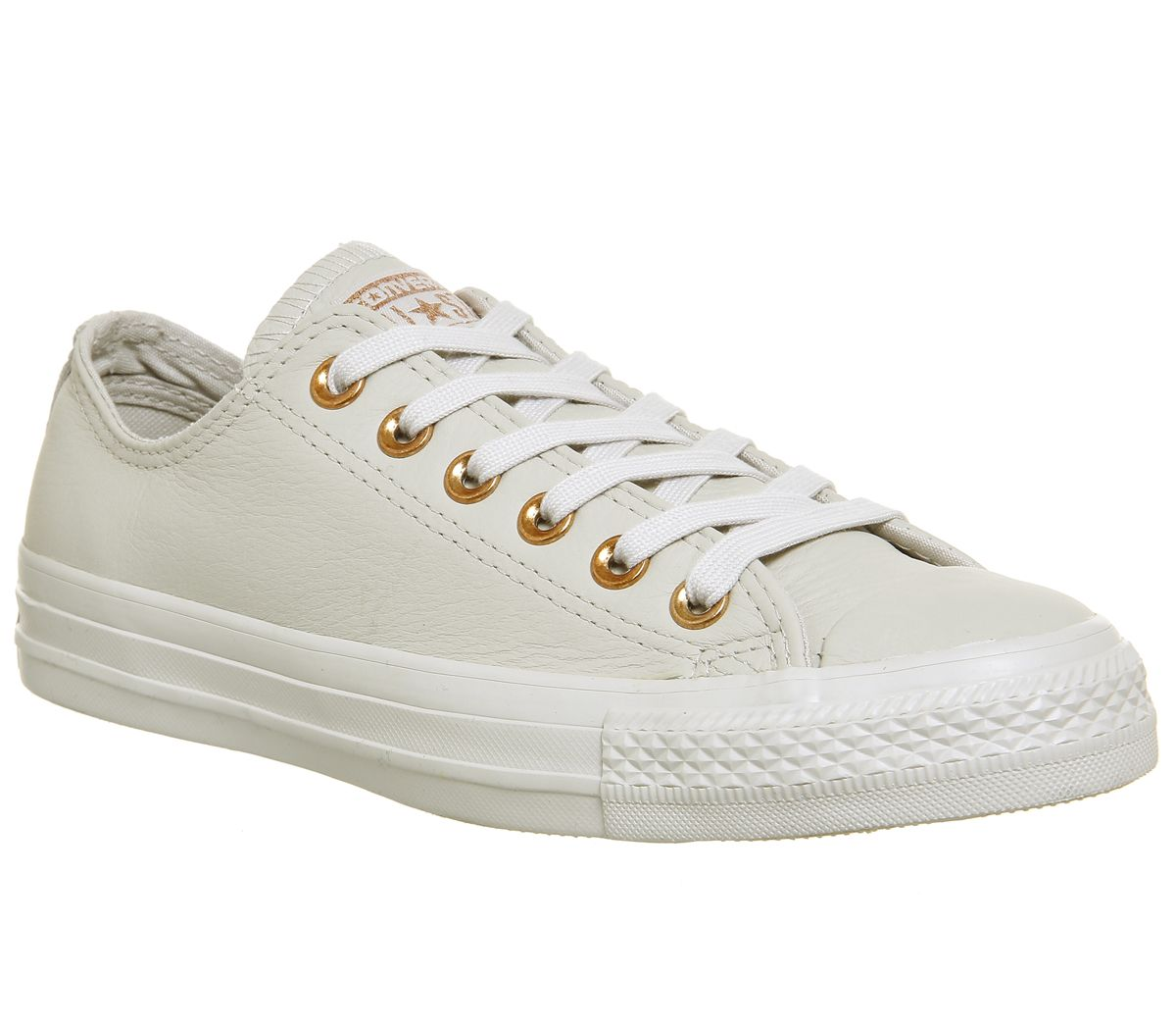 7d53e1173439 Converse All Star Low Leather Pale Putty Rose Gold - Hers trainers