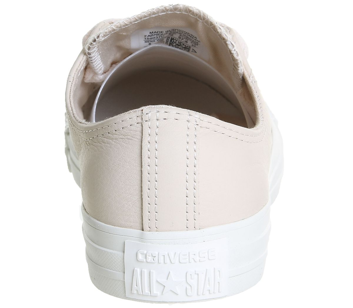 32b9110db4c49 Converse All Star Low Leather Egret Pastel Rose Tan Blush Gold ...