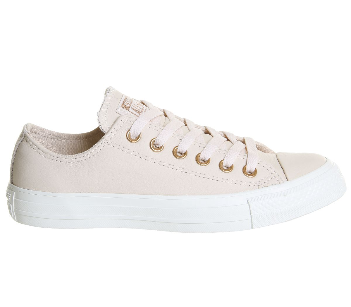 28548905f9 Converse All Star Low Leather Egret Pastel Rose Tan Blush Gold ...