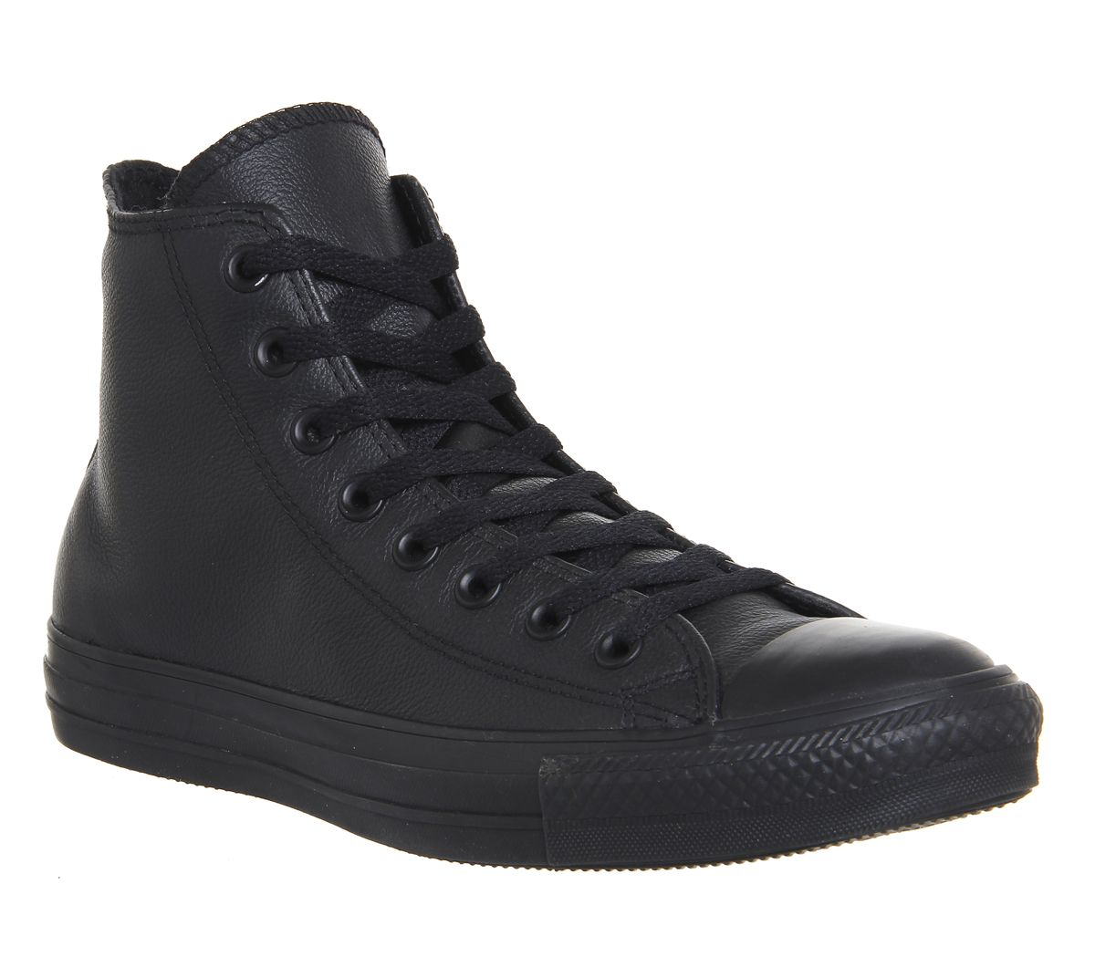 022fcd8d5995 Converse All Star Hi Leather Black Mono - Unisex Sports