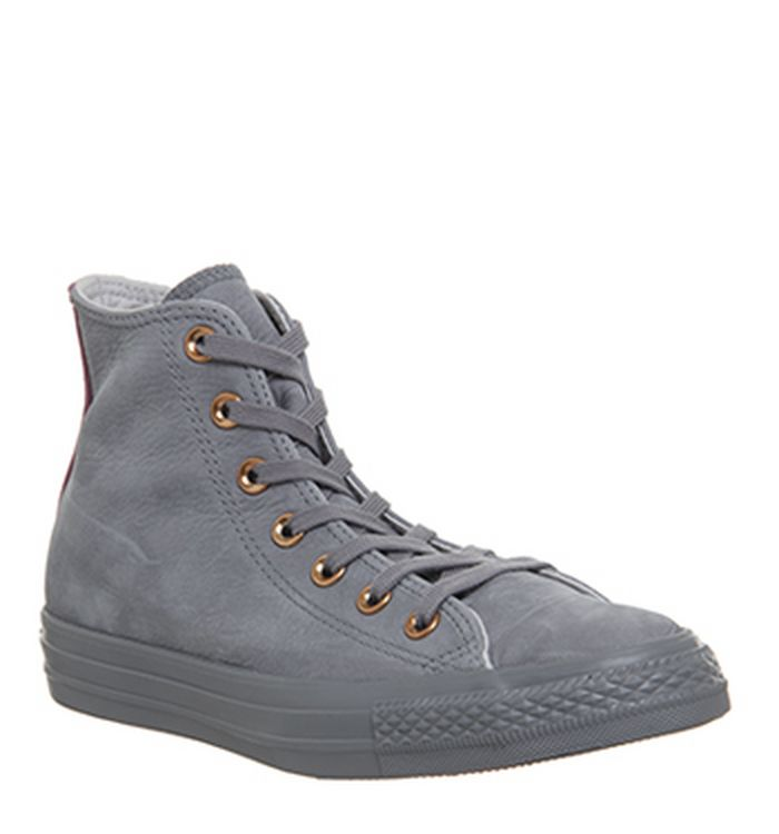 b8a8af9bb79a 07-08-2018 · Converse All Star Hi Leather Trainers