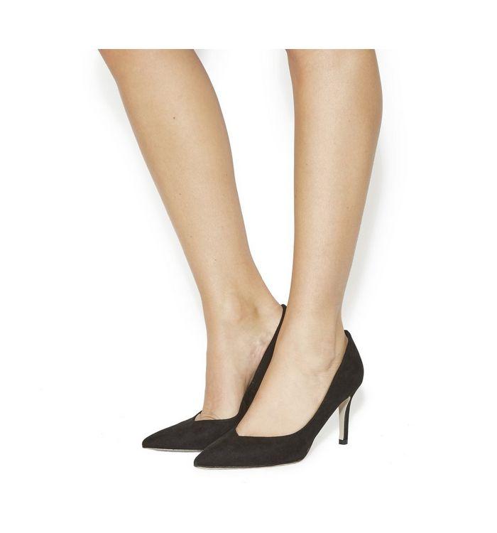 office margarita point court heels black