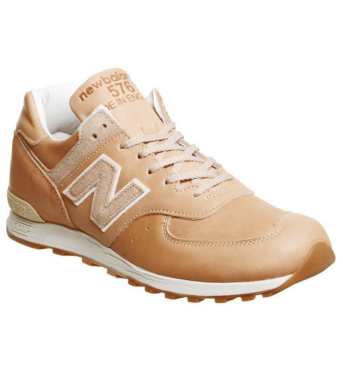 new arrival bd1ef 282c6 New Balance 576 Trainers Veg Tan Miuk - His trainers