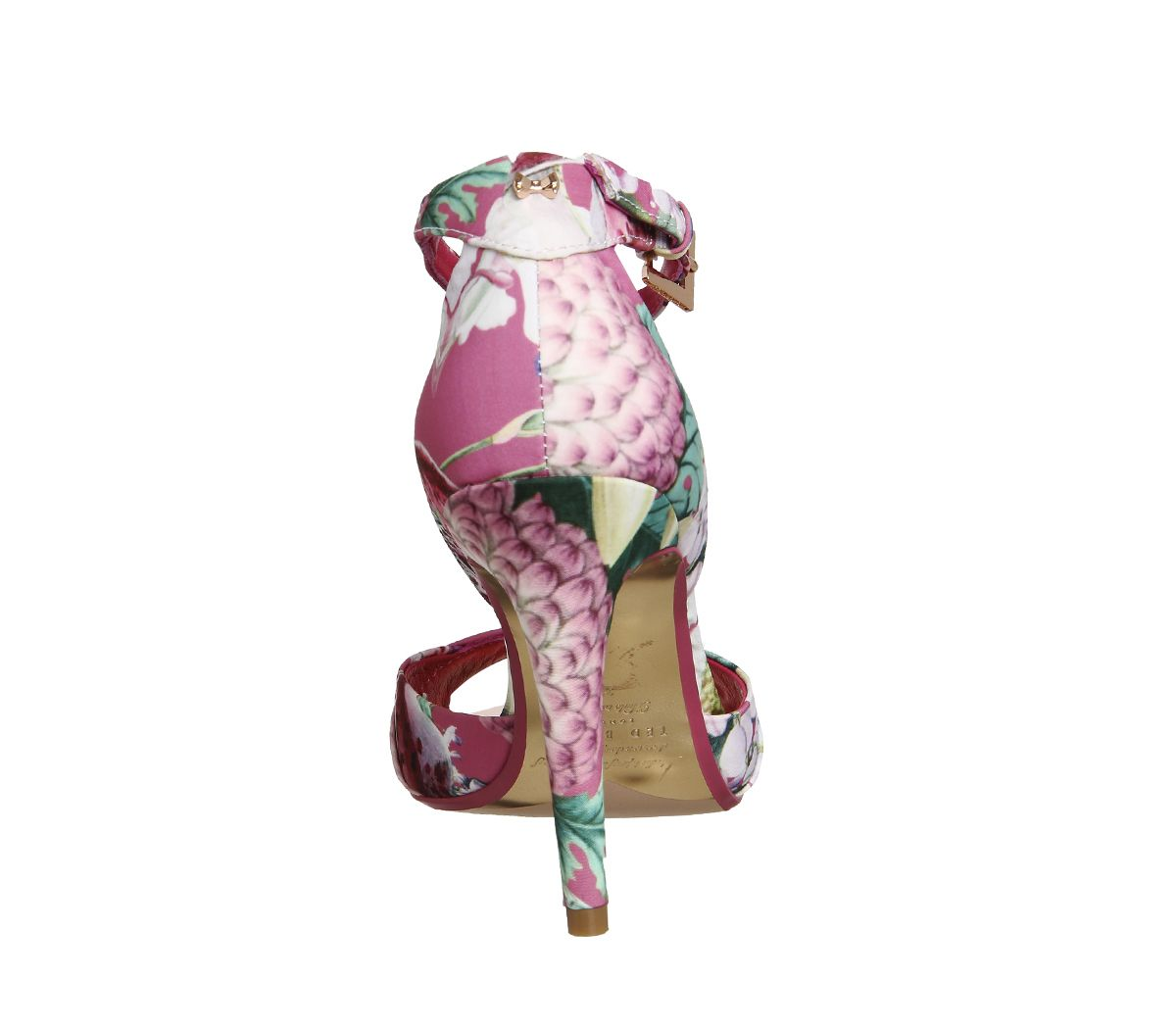 547304a82310 Ted Baker Caleno Strappy Heels Encyclopedia Floral - High Heels