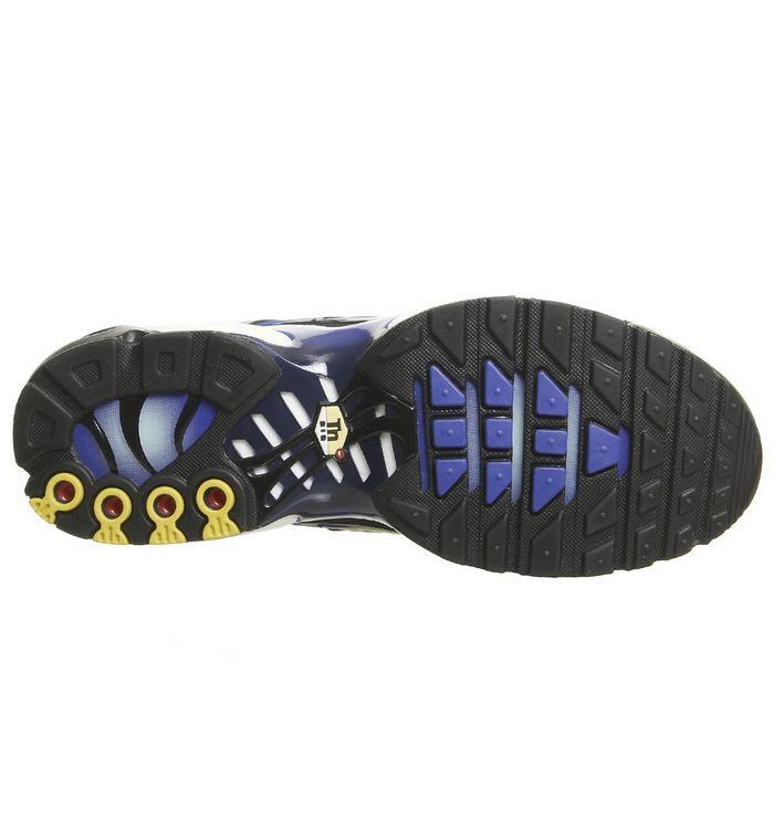 62afb657ee ... Air Max Plus Trainers; Air Max Plus Trainers; Nike, Air Max Plus  Trainers, Black Chamois Sky Blue Hyper Blue