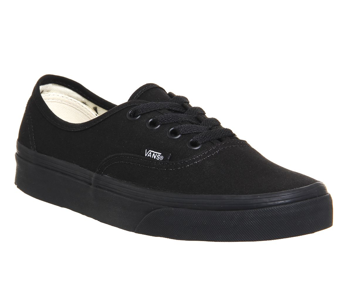 4f1d1ae00c32 Vans Authentic Black Mono - Unisex Sports