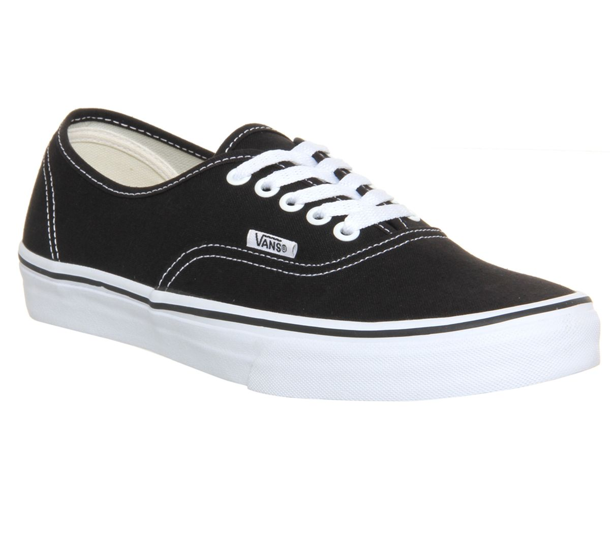 60a7a5f10031 Vans Authentic Black White - Unisex Sports