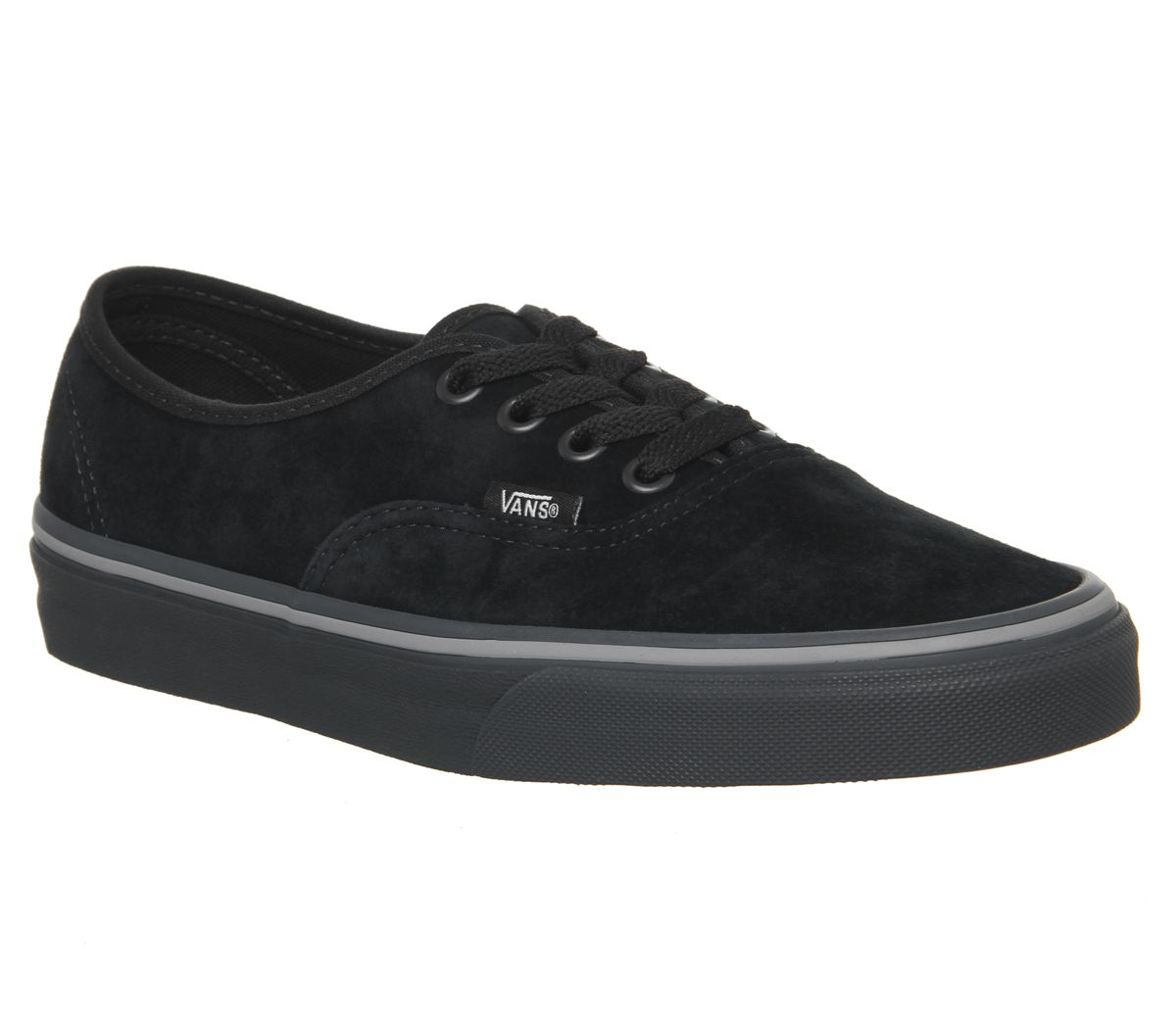 31f4aac19185bc Vans Authentic Trainers Pirate Black Frost Grey - Unisex Sports