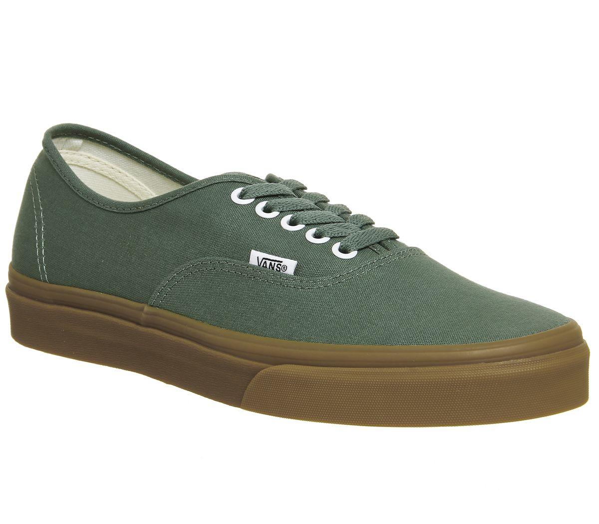 de9fa82f5cd vans authentic green