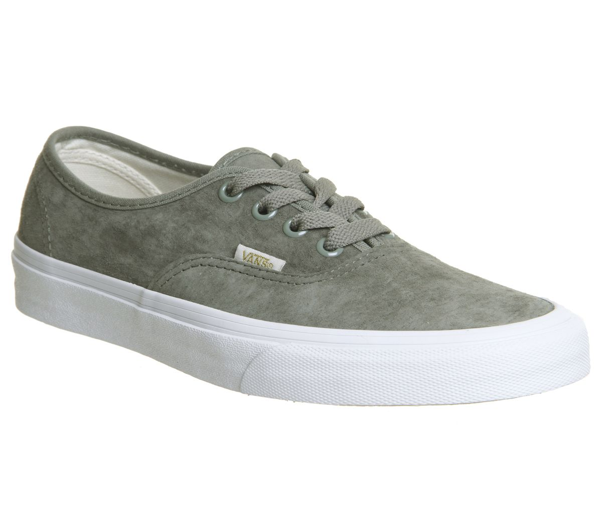fc08763ec9 Vans Authentic Trainers Vetiver Eggnog True White - Hers trainers