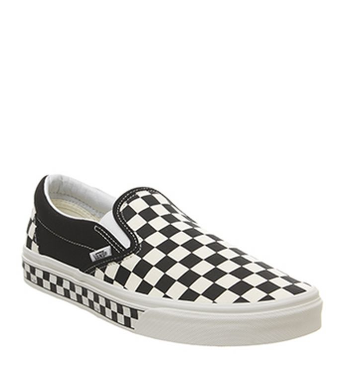 b2951940a2 04-04-2019. Vans Vans Classic Slip On Trainers Black White Checkerboard  Exclusive
