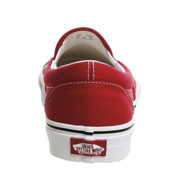 5bbaa614d1 ... Racing Red Checkerboard Flame  Vans Classic Slip On Trainers  Vans  Classic Slip On Trainers  Vans Classic Slip On Trainers ...