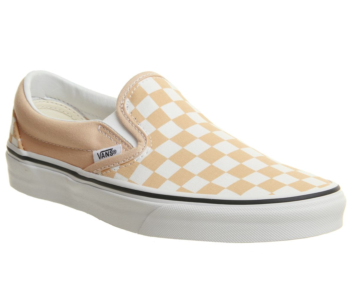 937f0983756f Vans Vans Classic Slip On Trainers Apricot True White - Hers trainers