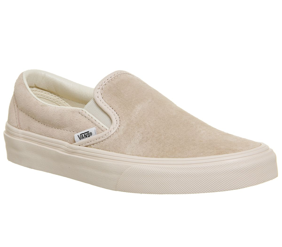 1ad37436b2 Vans Vans Classic Slip On Trainers Silver Peony Eggnog Exclusive ...