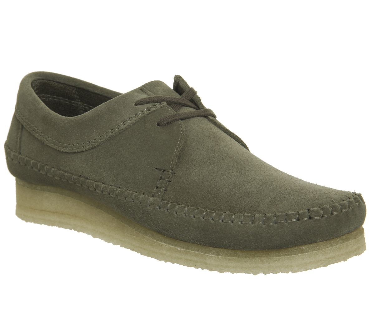 153bff65 Clarks Originals Weaver Shoes Olive Suede - Casual