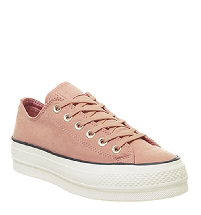 366c5ca104b 28-11-2018 · Converse All Star Low Platform Trainers Pink Blush Black Egret  Exclusive