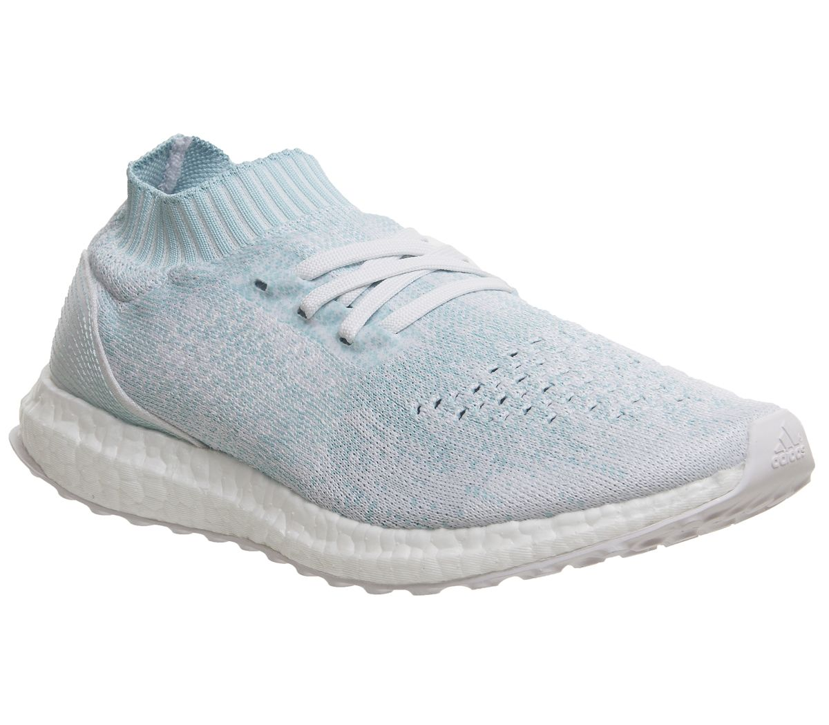 cf55c7527363c adidas Ultraboost Ultra Boost Uncaged Trainers Ice Blue White Parley ...