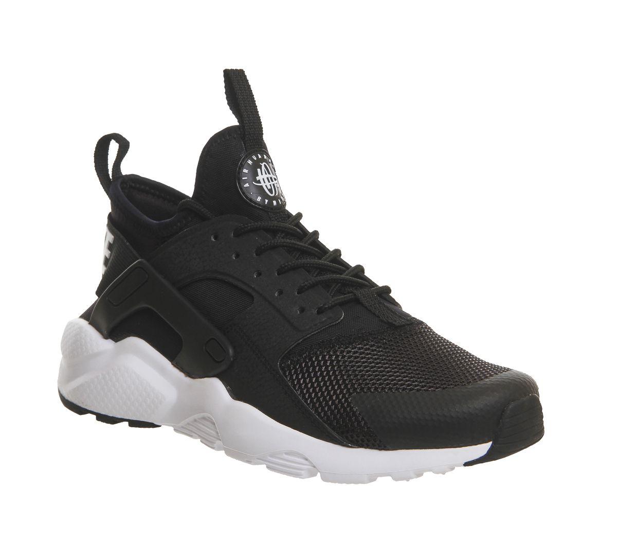 428a7ecc9b53f Nike Huarache Ultra Black White - Unisex