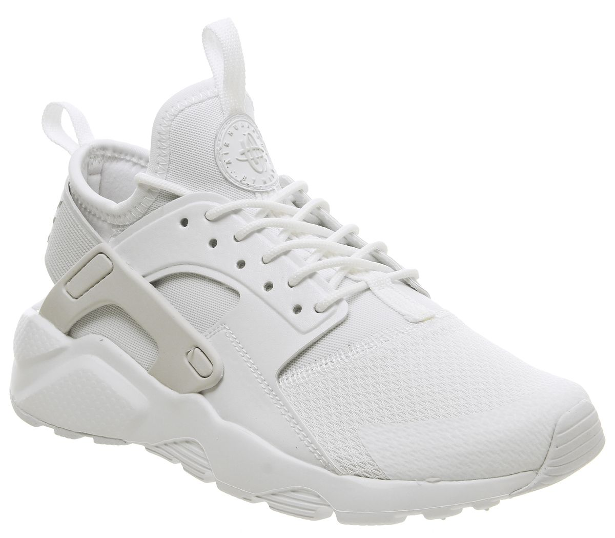 5f1208b6f5c2 Nike Huarache Ultra Gs Trainers White White Vast Grey - Hers trainers