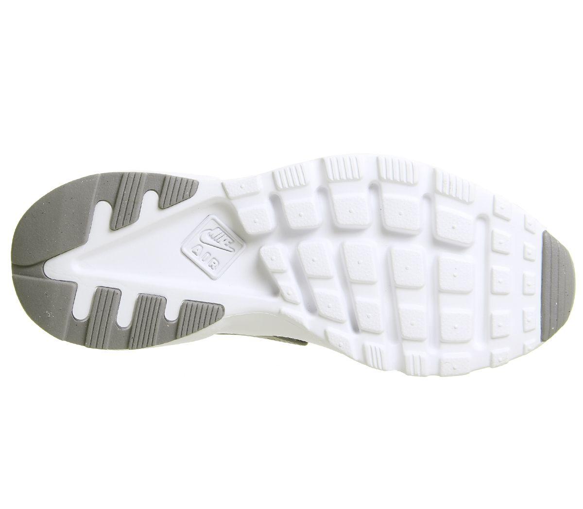 cb945fc5f320 Nike Huarache Ultra Gs Gunsmoke Metallic Silver White - Hers trainers