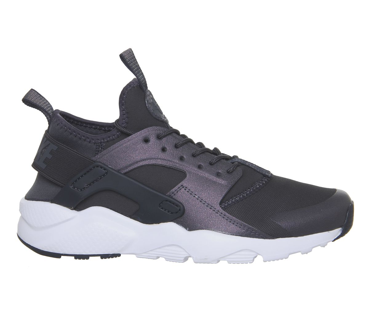 1db57393b9c6 Nike Huarache Ultra Gs Trainers Anthracite White - Hers trainers