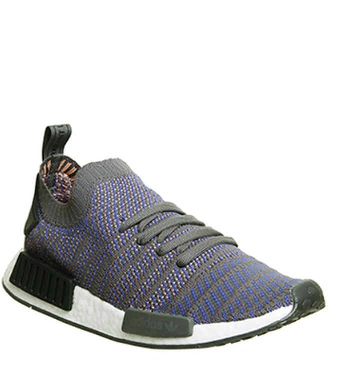 8345b5f795ec5 Launching 01-03-2018 · adidas. Nmd R1 Prime Knit Trainers Hi Res Blue Black  White. was £150.00 ...