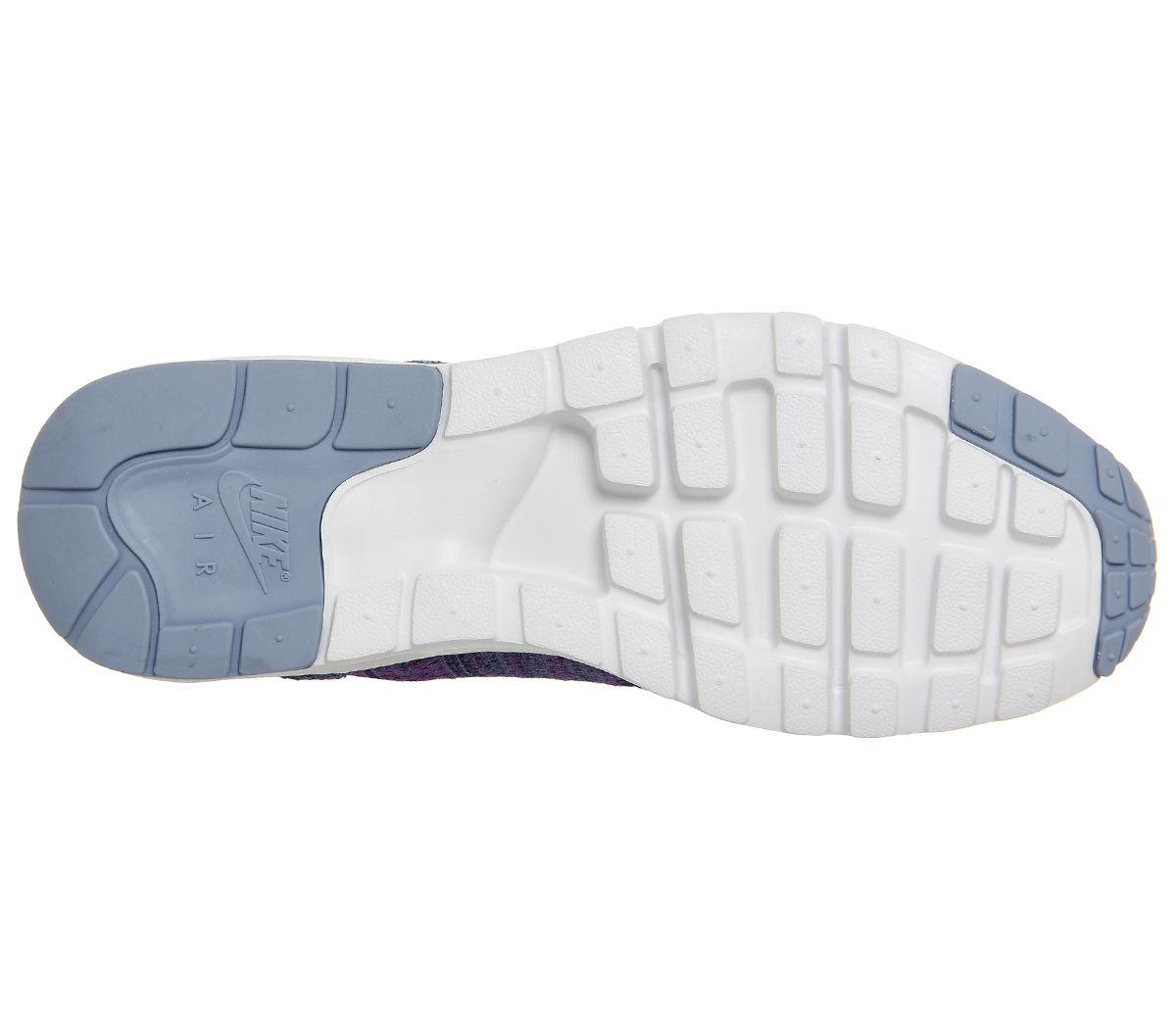 932b87697ae2 Nike Air Max 1 Ultra Flyknit Ocean Fog Navy Blue - junior