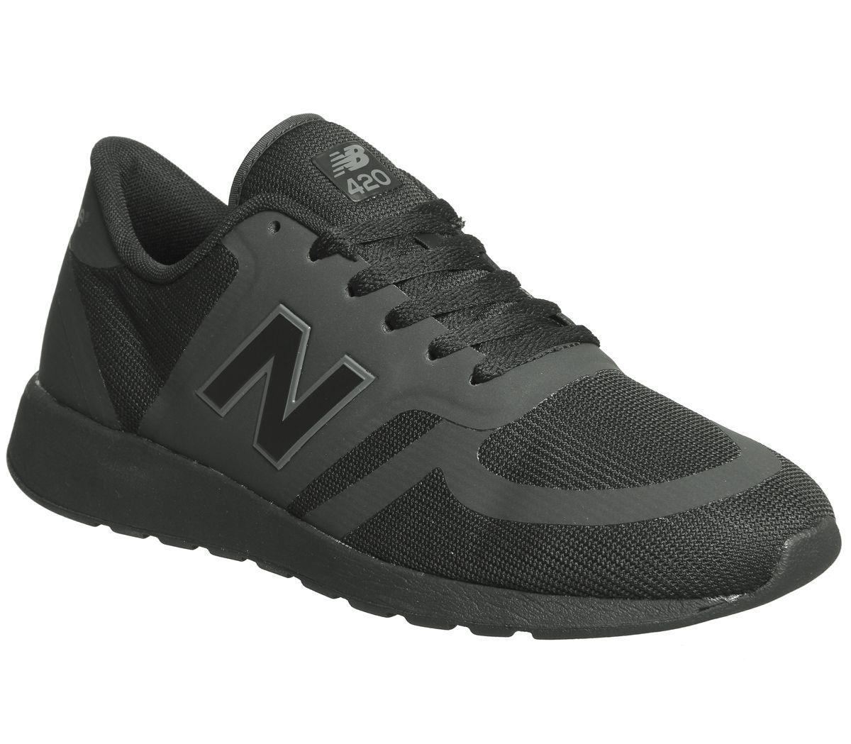 41075e85df1ea New Balance Mrl420 Trainers Black Black Mono - Unisex Sports