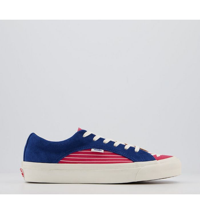 Vans Anaheim Lampin TRUE BLUE RACING RED,Blue, White and Red,Black
