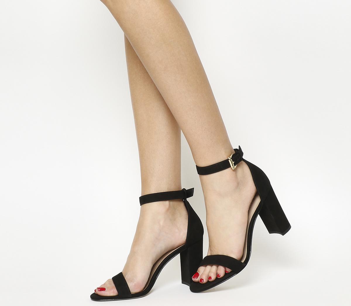 Nina Block Heel Sandal