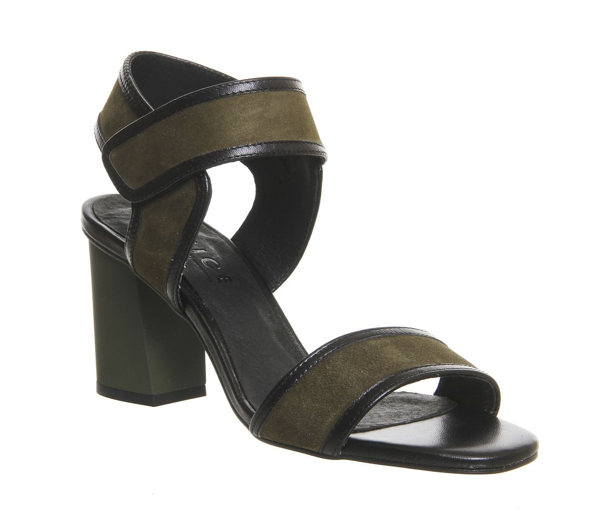 Fetch Two Strap Block Heel Sandal