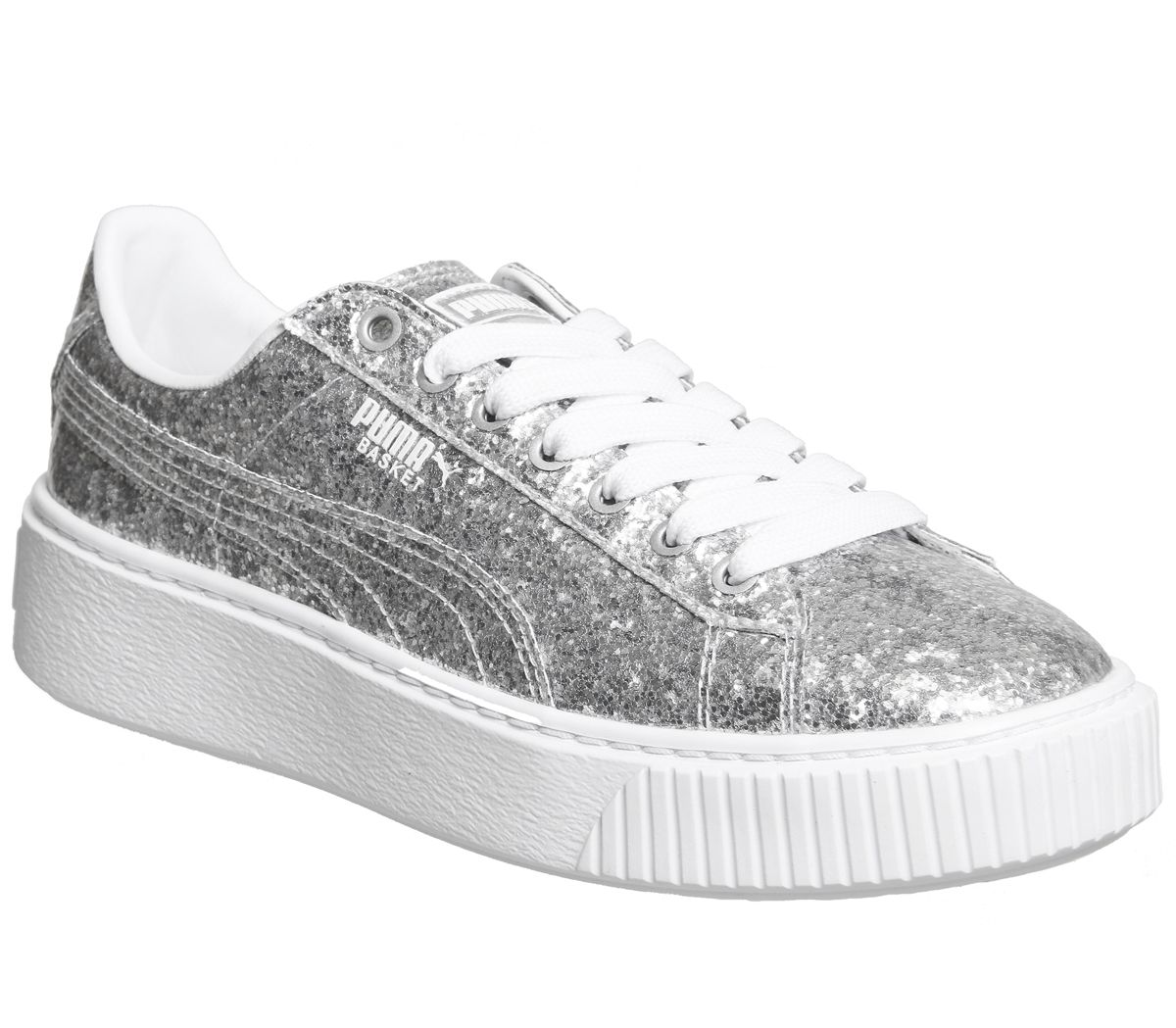 super popular 9a430 659fa Basket Platform Trainers