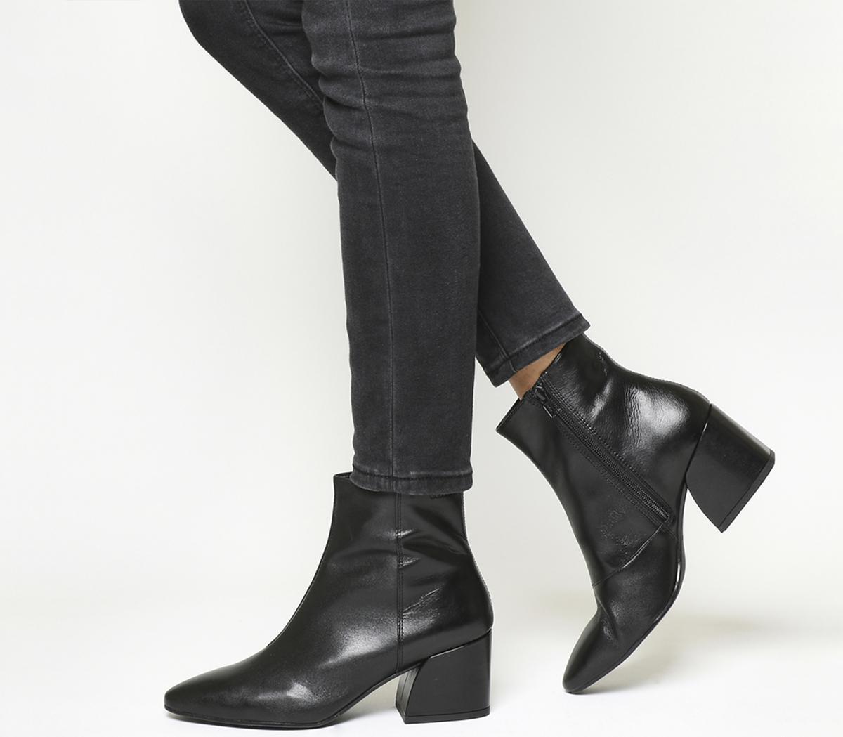 Olivia Block Heel Boots