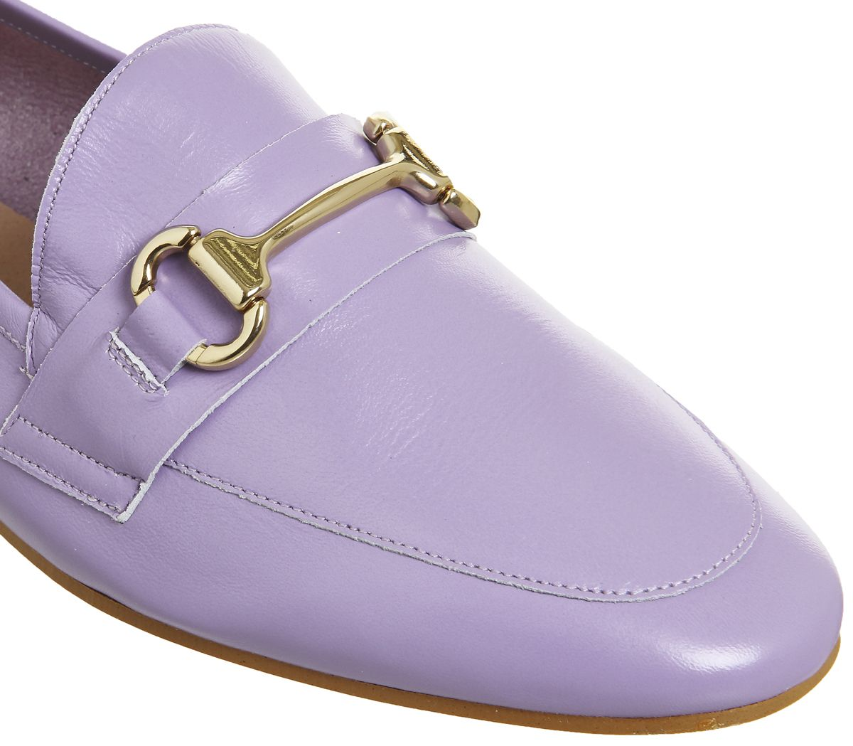 7849844cf68 Office Destiny Trim Loafer Lilac Leather - Flats