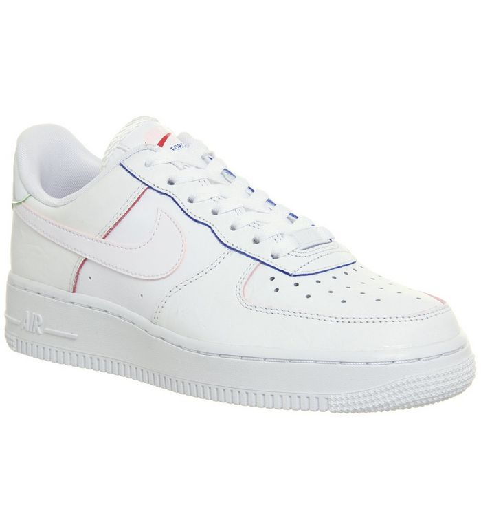 2a4d903d7cf66 Nike Air Force 1 '07 Trainers White White F - Hers trainers